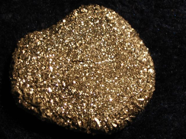 Iron Pyrite Oval