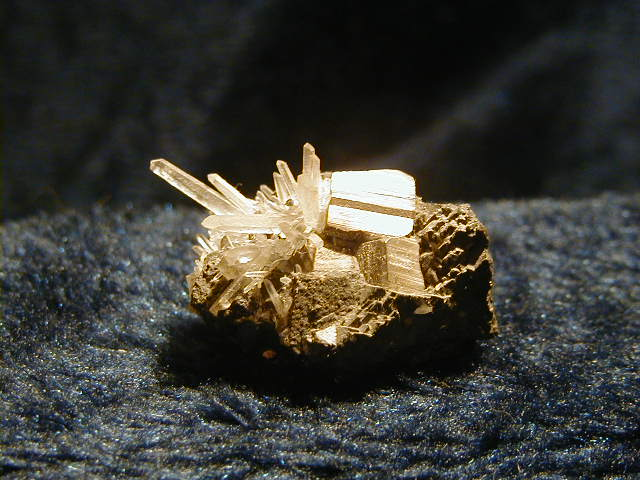 Iron Pyrite & Quartz
